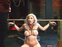 Arab femdom goddess menial Bigbreasted ashblonde beauty Cristi Ann is on vacation boating and
