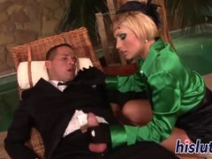 Ravishing Sylvia gets pounded from behind