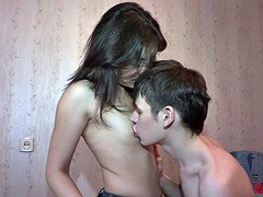 18 Videoz - Shy teeny makes love fantastic