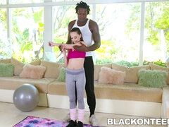 Mom compeers daughter trainer VIP Stepbro Treatment