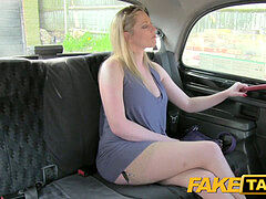 Faketaxi mature light-haired accepts indecent proposal