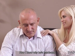 DADDY4K. Beautiful chick wanted to taste old prick...