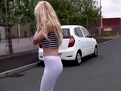 honey ambling milky Spandex Leggings