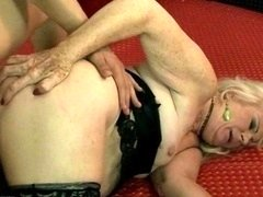 Ugly granny getting fucked pretty hard