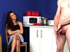 hot domina watches loser gal