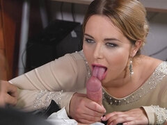 Cock Sucking At Work