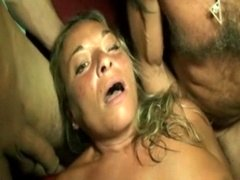 Group-fuck in a sauna club