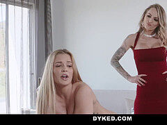 Dyked - obedient mistress Fucked By Dominating Hot wife
