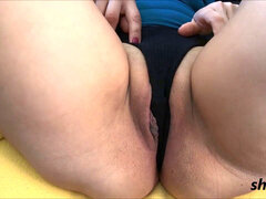 enormous turgid fuckbox wants your cock, big or small no matter.. sexy cameltoe