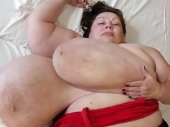 Big-breasted Linda Bound and Climaxed