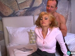 Awesome kinky chick Veronique gets her ass fucked by a long dick