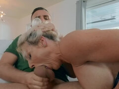 Hung stud's wife likes watching him fuck other women