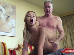 Nasty porn star coitus and ejaculate