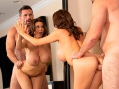 Cute MILF with gorgeous big boobs Alexis Fawx wants his hard cock