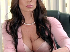 Brunette Kendra Lust relaxed with a good fuck