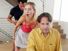 Haley Reed gets fucked and her dad is none the wiser