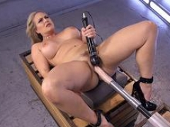 Sizeable tits Mom i`d like to fuck has an intercourse fast machine