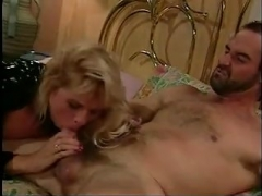Blonde Mom i`d like to fuck in Latex  Boots