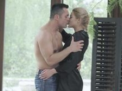 Each and all natural blonde Cherry Kiss enjoys sensual backdoor sex with Renato