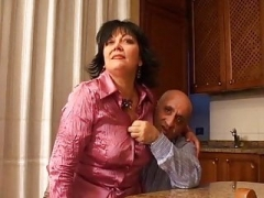 Mature Italian couple does pornography