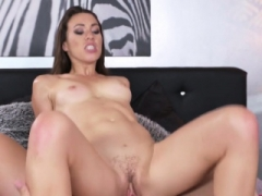 Tiffany Doll In French brunette rides face and furthermore cock