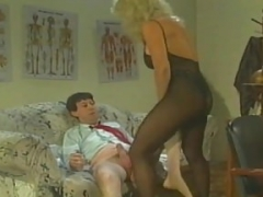 Classic Adult stars: The Nympho Sexually available mom starring Tracey Adams