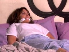 TV Damsel - Latina Kidnapped and additionally Gagged