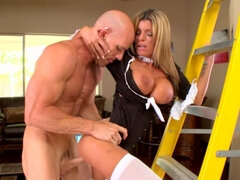 Johnny likes to fuck his maid