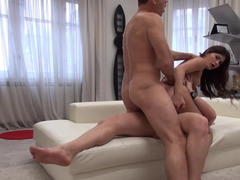 Sweetheart Alexi Star double penetrated at porn audition