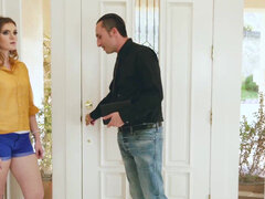Stacey Leann getting manhandled & rough fucked by her evangelical uncle