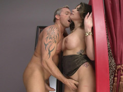 Glamorous milf slut Danica Dillon fucked in heels