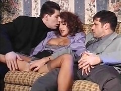 Italien Threesome Double penetration 90s