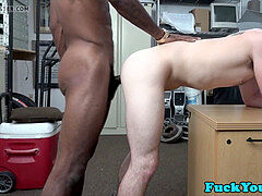 Bareback interracial rectal boinks hetero guy