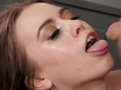Jill Kassidy manages to fuck stepmom's boyfriend Duncan Saint