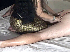 St8 dude Gets asian prostate Massage For First Time From MissLawanda