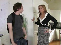 StepMom Julia Ann Makes love Stepson in Tooshie!