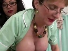 Mature brit female domination nurses give russian ejaculation