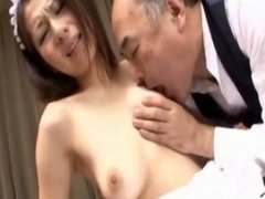 Maid Getting Her Unshaved Fuck hole Fingered Blowing off Dude Knob On The Carpet In The Sitting Roo