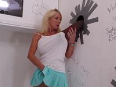 Nana Cammille Austin Loves Huge Black Flag pole - Gloryhole