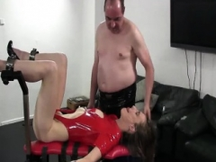 Fisting sex loose 18-19 y.o. muff in bondage
