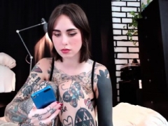 Livecam Tattoo angel jack off