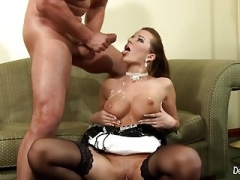 Cindy Dollar Is A Lustful Maid That generally offers Backdoor Service