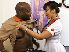 Ava Devine Attending To Her Patient's Needs