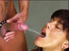 German old true extreme deepthroating