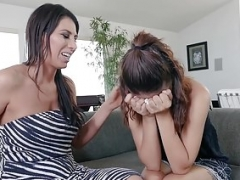 Dyked - Hot Sexually available mom Seduces Lesbo Bride