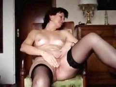 Angie(40) Jerking off & Cumming 3 Times