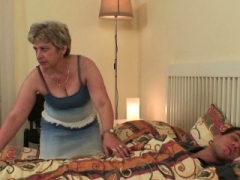 Mother-in-law taboo sex is ran into!