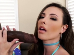 Sweetie butt rides black rod