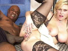 pierced eager mom tush fucked by a black monster cock