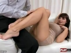 Aletta Feet have an intercourse